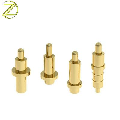 High Current Spring Loaded Contacts
